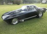 1967 corvette, 8 second car