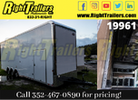 2021 8.5X32 Cargo Mate Stacker Race Trailer for Sale