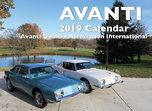 2019 Avanti Wall Calendar  for sale $12