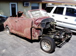 1948 Chevy Convertible Project  for sale $3,500