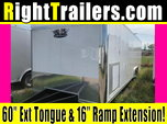 "28ft Vintage Race Trailer w/ 6'6"" Interior Height"