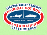 Lebanon Valley Dragway Class Winner Decal  for sale $7.49