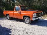 79 Chevy Silverado C20  for sale $19,000