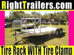 18' Aluminum Car Hauler w/ Beavertail