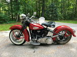 1942 harley davidson knucklehead,  for sale $21,200