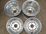 "Weld 10"" Aluminum Racing Wheels  for sale $150"
