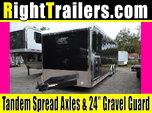 28' ATC Race Trailer w/ Eye Catching Screwless Exterior