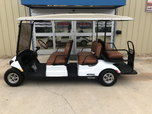 2019 Yamaha Concierge Gas Golf Cart 6 Passenger - White
