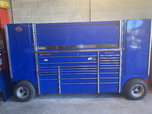 Snap on Snapon Snap-on pit box TUV Royal Blue  for sale $12,500