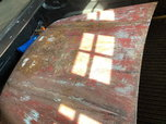 57 Chevy Pickup hood  for sale $225