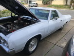 El Camino pro street Project  for sale $10,950