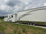 2005 Show Hauler with 2006 Renegade Stacker Trailer  for sale $160,000