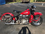 1947 Harley Davidson Knucklehead EL  for sale $20,500