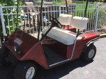ez go  gas golfcart $1700