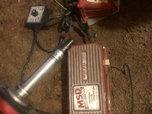 MSD Distributor, RPM module selector, pro power coil, 6al  for sale $200