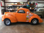 40 WILLYS DRAG CAR BIG BLOCK CHEVY  for sale $35,000