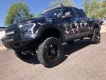 2015 Ford F150 Crew Cab 4X4 Ecoboost Custom Show truck