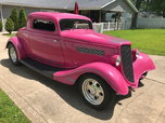 1934 ford 3 window  for sale $32,000