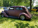1935 ford all steel slant back