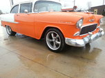 1955 chevy 210 nice car ready to go trades