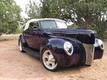 1940 Ford Convertible Deluxe  for sale $71,000