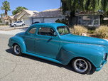 1941 Plymouth Cp. Street Rod