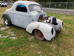 1940 Steel Willys Coupe Builder