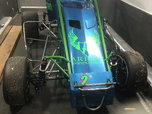 Spike Chassis Focus Midget with tons of parts