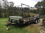 Ramp over trailer, flat trailer  for sale $2,600