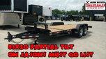 2020 Behnke 20K 83X20 (16+4) Partial Tilt Equipment Trailer