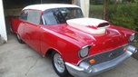 Nice 57 Chevy Drag Car, Back Half