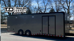 2020 Haulmark Edge Race Trailer, Charcoal, Loaded