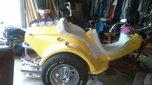 """07"" 1600cc VW Custom Trike  for sale $5,500"