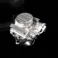 CHEVY 327 W/SINGLE FOUR BARREL CARBURETOR RING