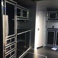 34 BATHROOM CONTINENTAL CARGO RACE TRAILER LOADED WING   for Sale $30,500