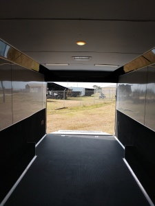 32' Pace Shadow GT Triple Spread Axle Race Trailer LOADED