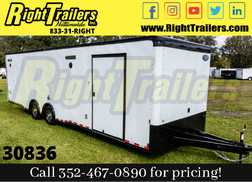 2020 8.5 x 30 Continental Cargo Race Trailer