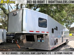 NEW 2021 Vintage 50' Living Quarters Trailer - Full  for Sale $62,999