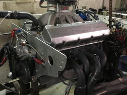 Chevy 358 SB2 Road Race GT-1 T/A Complete Engine Fresh SBC H