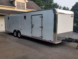 28 foot United fully loaded race car trailer