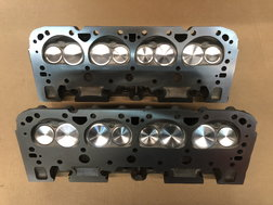 Fresh SB Chevy Iron Bowtie Heads w/ All New Components