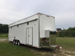2004 Performax 32 ft stacker with Dragster lift  for sale $45,000
