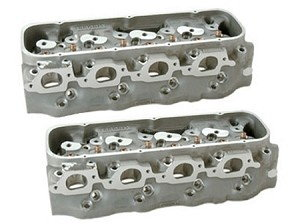 BB CHEV ALUMINUM BRODIX HEADS-320cc/365cc--MANLEY--NEW PAIR  for Sale $1,199