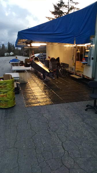03 Haulmark 40ft stacker (34ft box) Full Pro Awning  for Sale $39,000