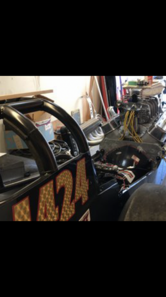 Blown BBC Front Engine Dragster