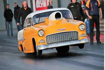 1955 Chevy doorslammer Bel Air Chevrolet Drag Racing  for Sale $84,500