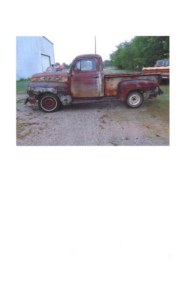 1951 Ford F1  for Sale $5,850