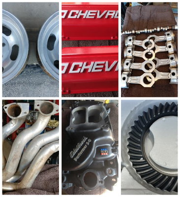 Variety of Chevy Parts