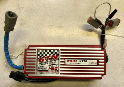 MSD 6TN NASCAR CD Ignition Box