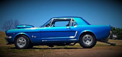 1965 Pro Street Mustang